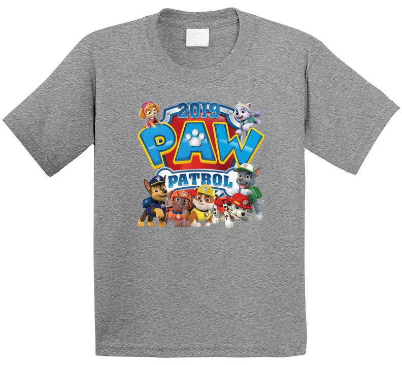 Paw Patrol 2019 T Shirt
