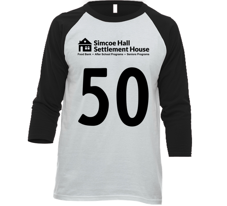 Simcoe Hall Settlement House (back) T Shirt