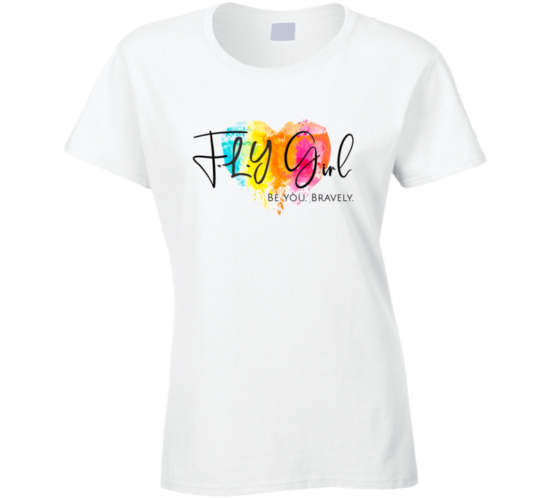F.l.y. Girl Ladies T Shirt