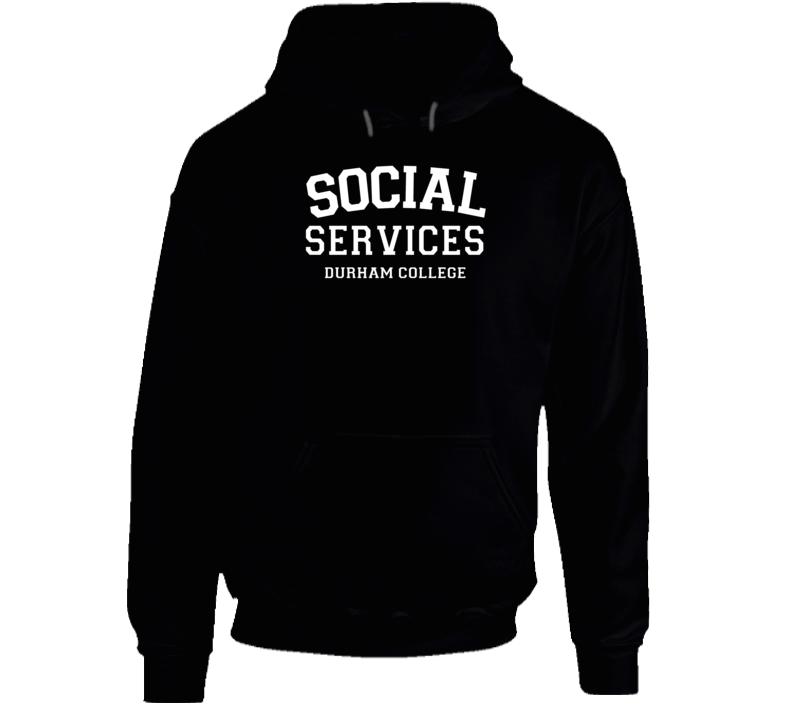 Durham College Social Services Hoodie