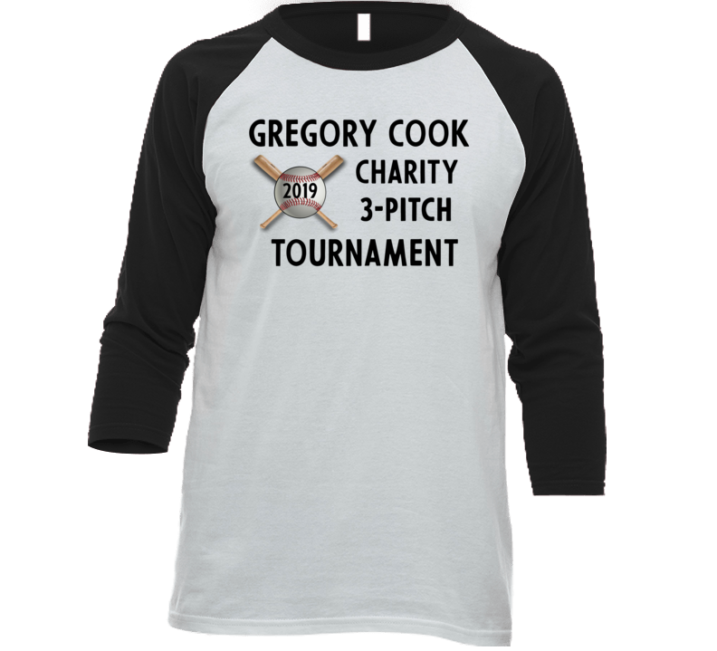 Gregory Cook Charity 3-pitch Tournament T Shirt