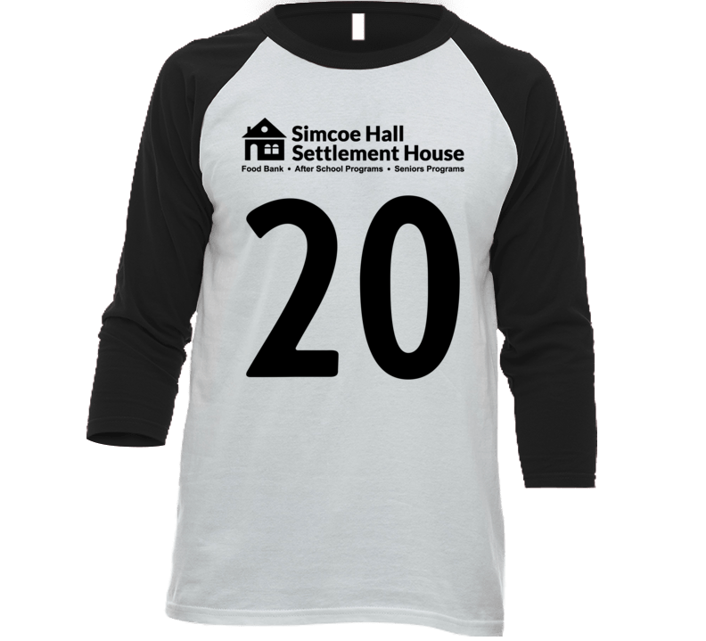 Simcoe Hall Settlement House Jersey - 20 T Shirt