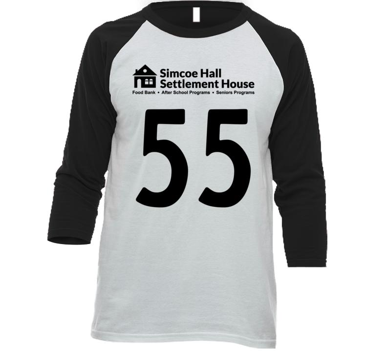 Simcoe Hall Settlement House Jersey - 55 T Shirt