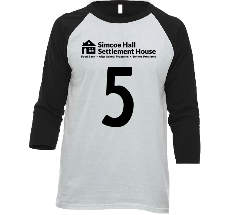 Simcoe Hall Settlement House Jersey - 5 T Shirt