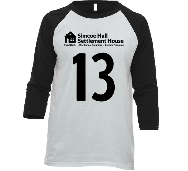 Simcoe Hall Settlement House Jersey - 13 T Shirt
