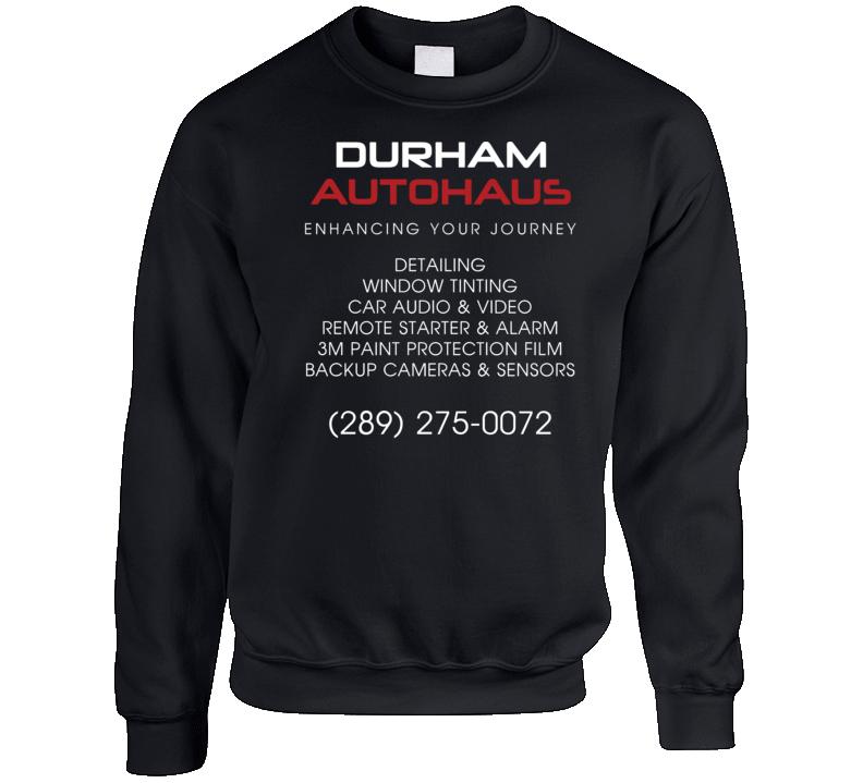 Durham Autohaus (back) Crewneck Sweatshirt