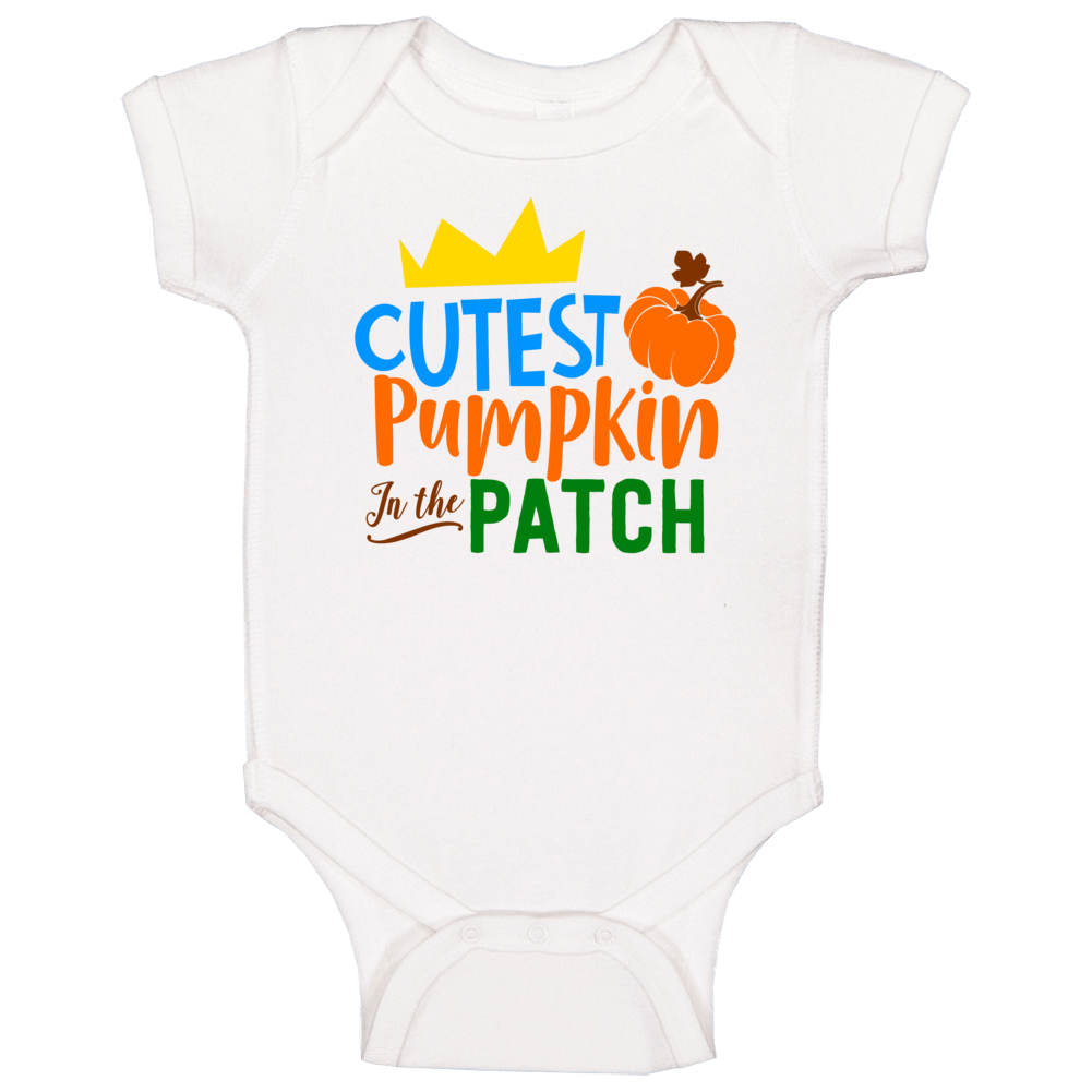 Cutest Pumpkin In The Patch Baby One Piece