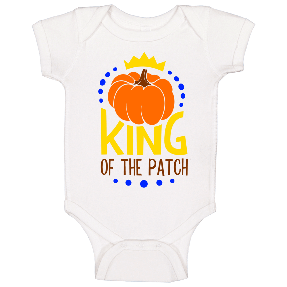 King Of The Patch Baby One Piece