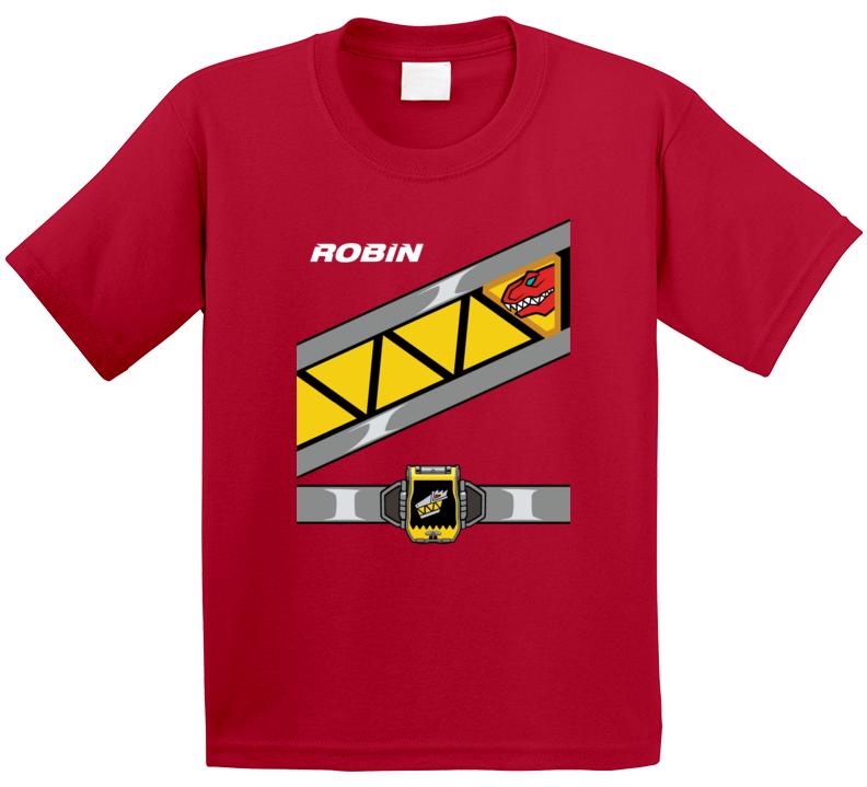 Red Ranger Costume T Shirt