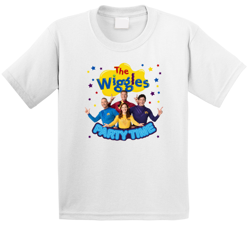 The Wiggles Party Time T Shirt