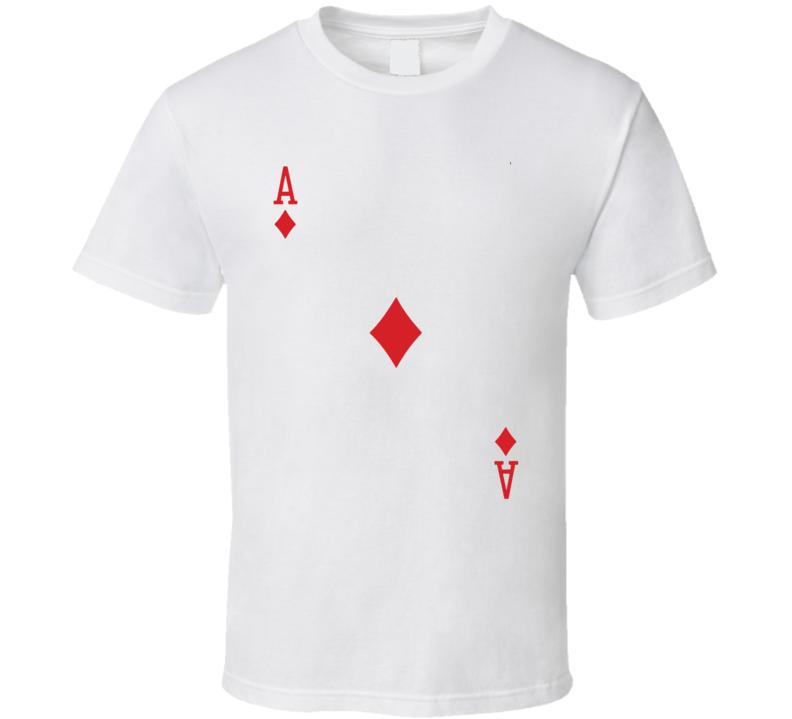 Ace Of Diamonds Suit - Deck Of Cards Costume T Shirt