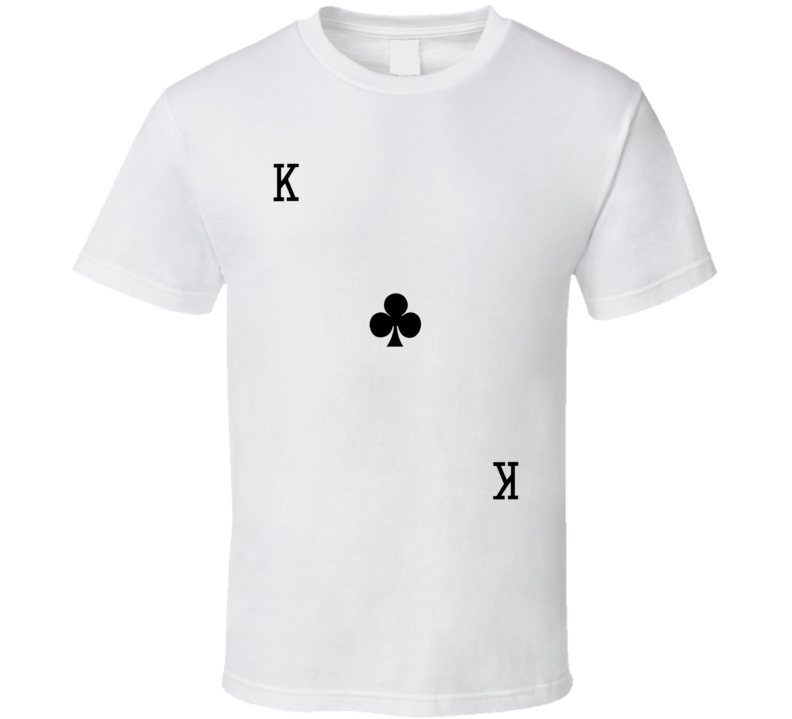 King Of Clubs - Suit Of Cards Costume T Shirt