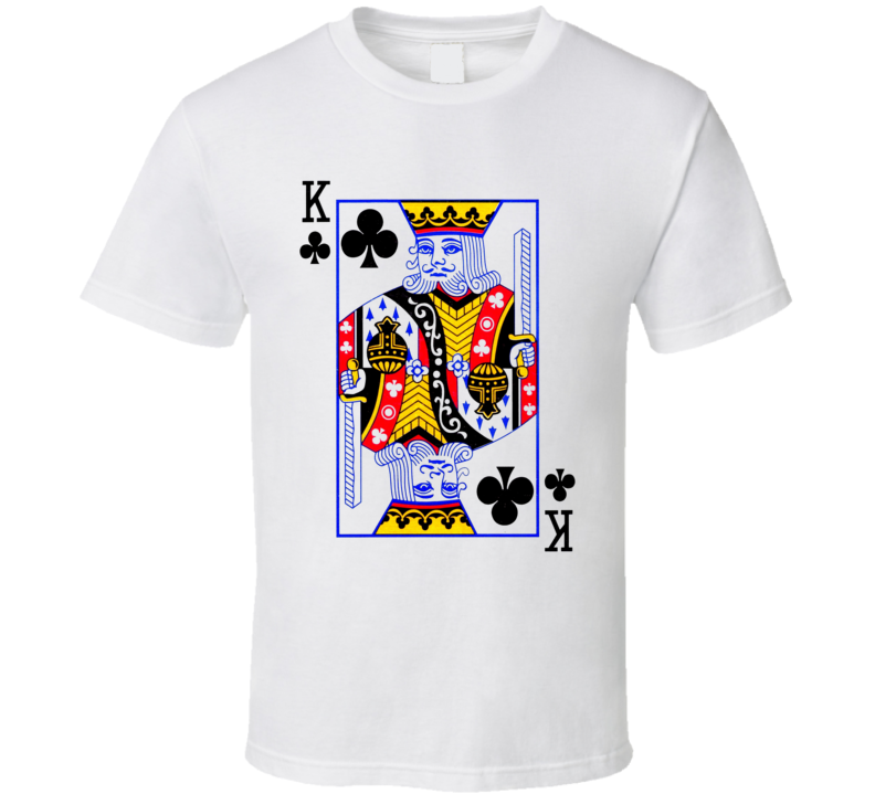 King Of Clubs Suit - Deck Of Cards Costume T Shirt