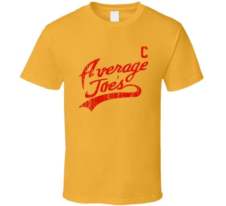 Dodgeball Average Joe's Coach Uniform (front) T Shirt