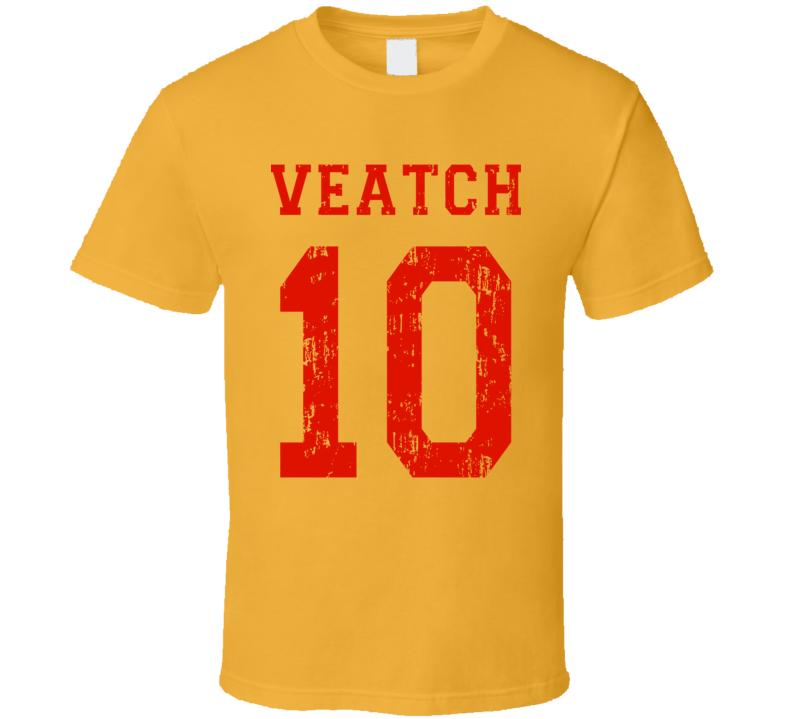 Dodgeball Average Joe's Veatch Uniform (back) T Shirt