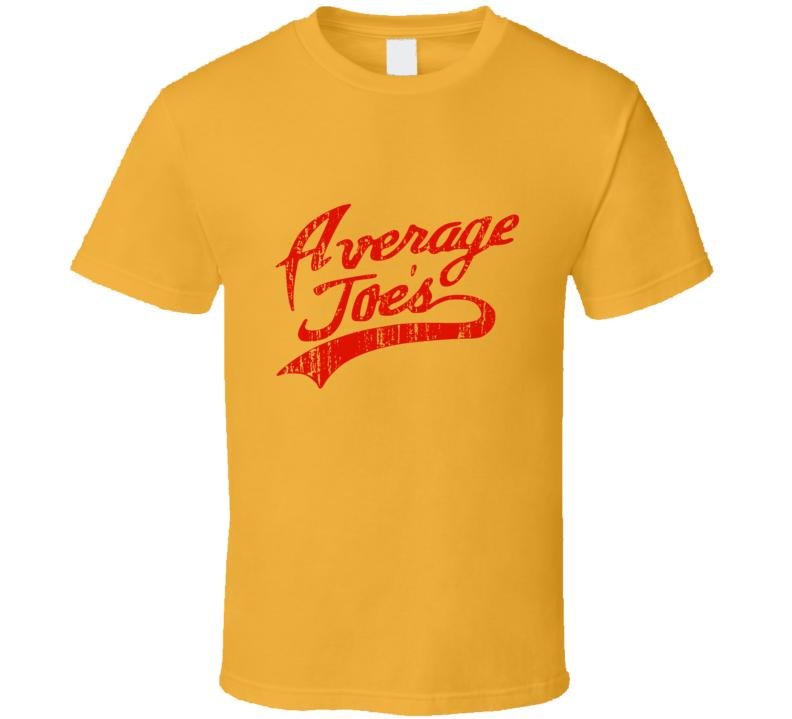 Dodgeball Average Joe's Veatch Uniform (front) T Shirt