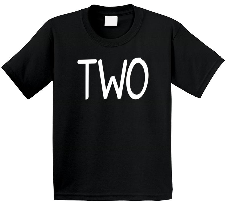 Two 2nd Birthday T Shirt
