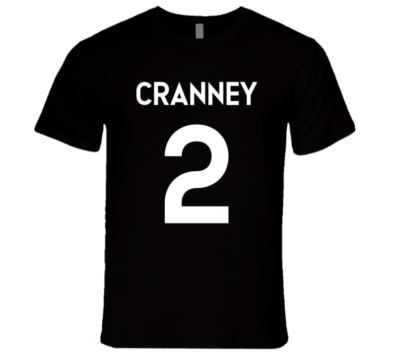 Cranney #2 Jersey Style T Shirt