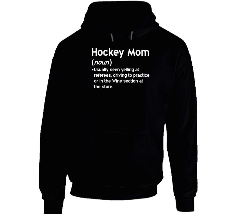 Hockey Mom Definition Hoodie