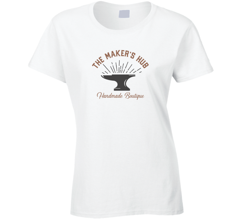 The Maker's Hub Handmade Boutique Ladies T Shirt
