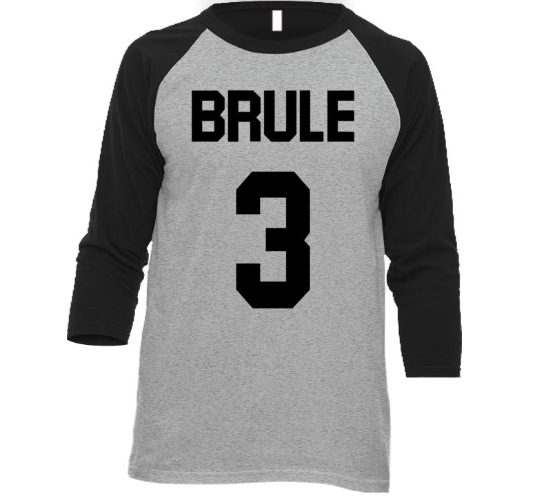 Team Brule #3 Jersey T Shirt