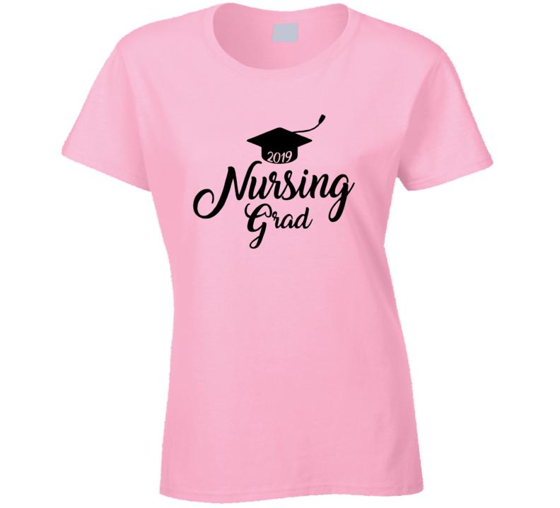 Nursing Grad ( Customizable Year) Ladies T Shirt