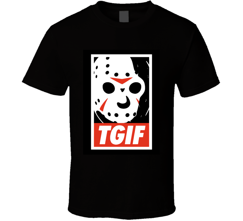 Thank God It's Friday The 13th T Shirt