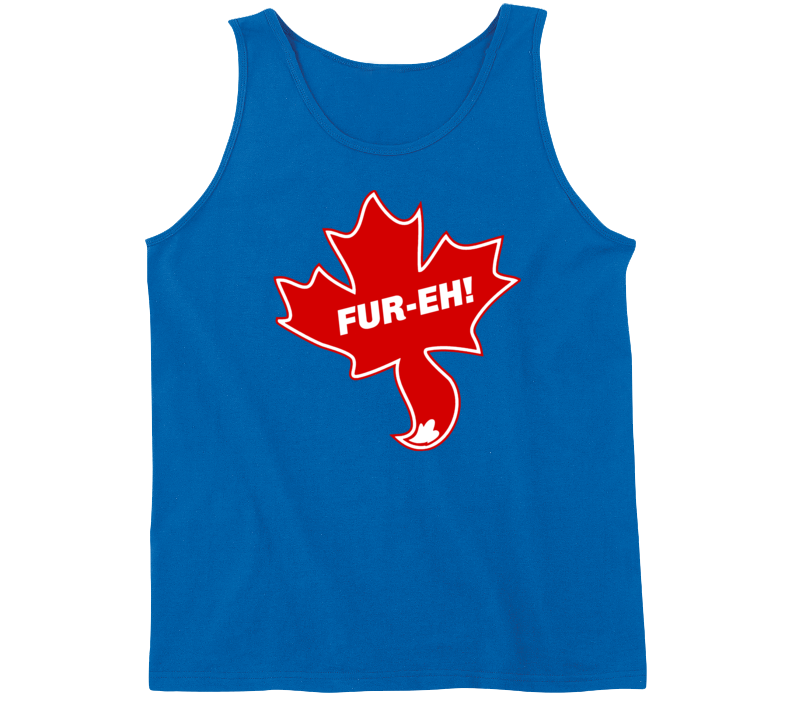 Fur-eh! Canadian Furry Tanktop