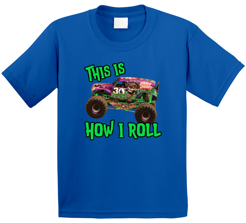 Gravedigger This Is How I Roll T Shirt