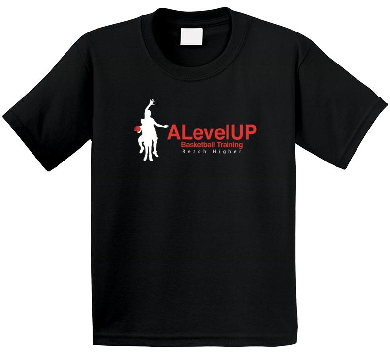Alevelup Basketball Training Reach Higher Promotional T Shirt