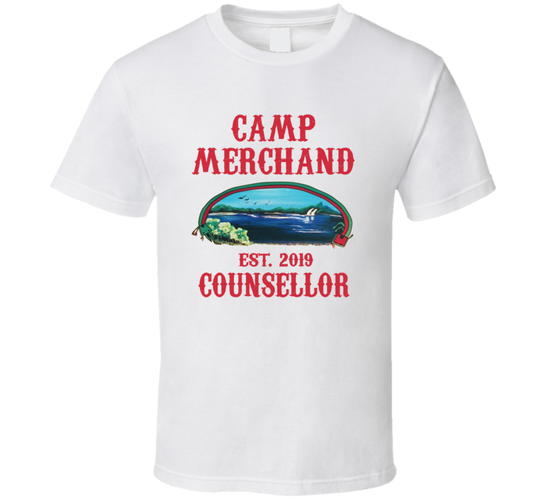 Camp Merchand Counsellor Friday The 13th Parody T Shirt