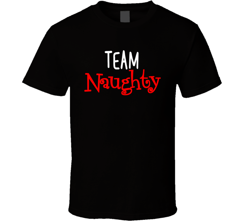 Team Naughty / Nice - Naughty T Shirt