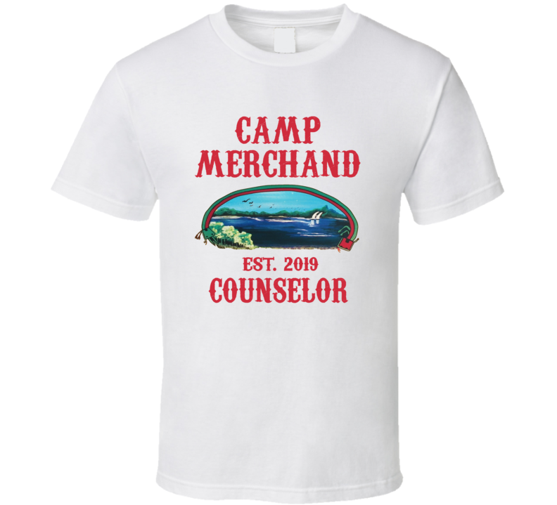 Camp Merchand Counselor Friday The 13th Parody T Shirt