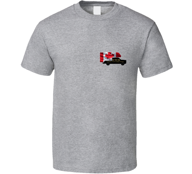 Ctfo Canadian Truck Camper Owners T Shirt