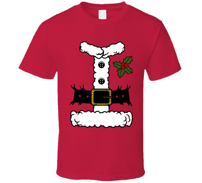 Santa Costume T Shirt