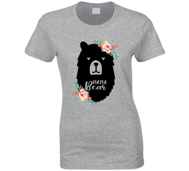 Mama Bear Ladies T Shirt