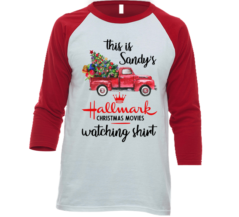 This Is Sandy's Christmas Movie Watching T Shirt