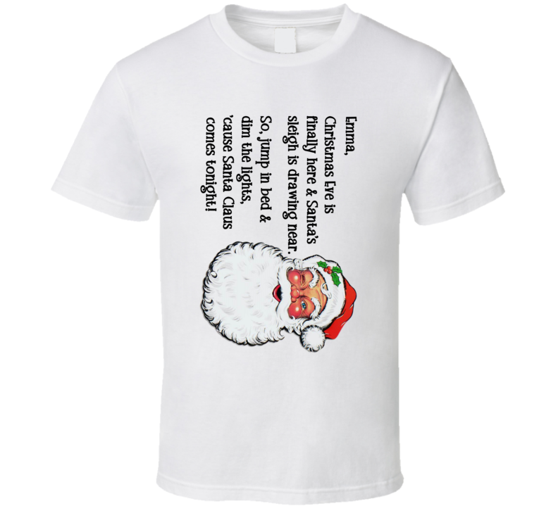 Christmas Pillowcase - Emma T Shirt
