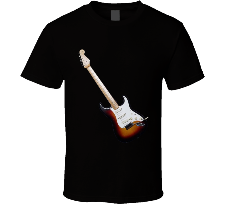 Guitar Silhouette T Shirt