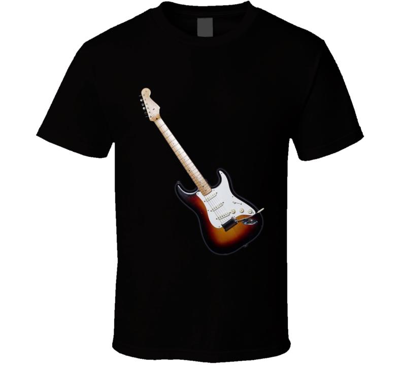 Guitar With Highlight T Shirt