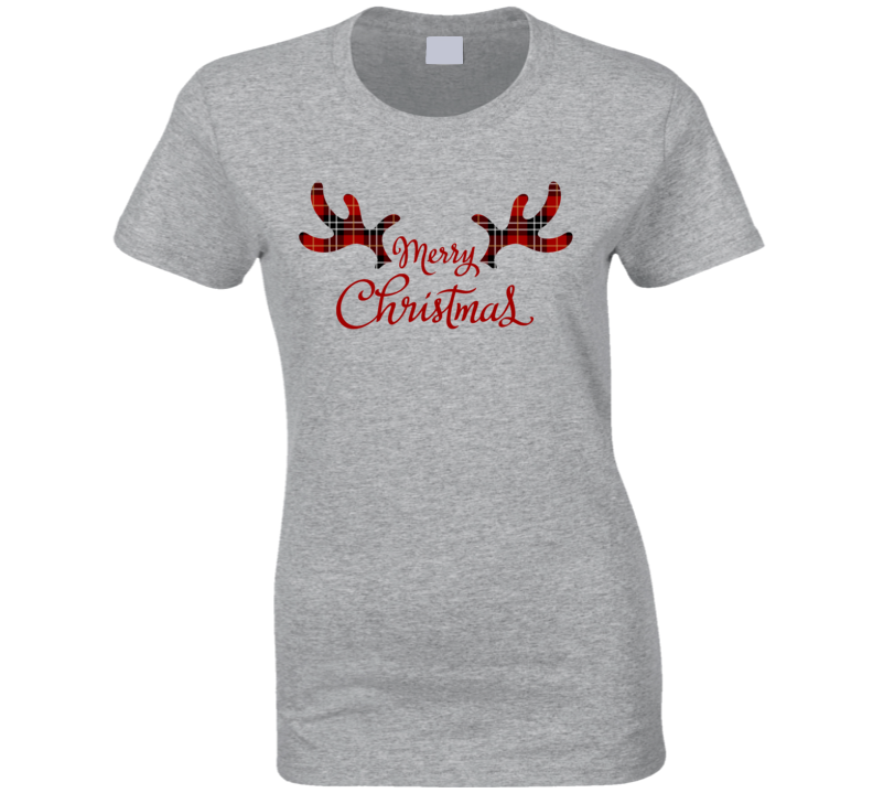 Merry Christmas Ladies T Shirt