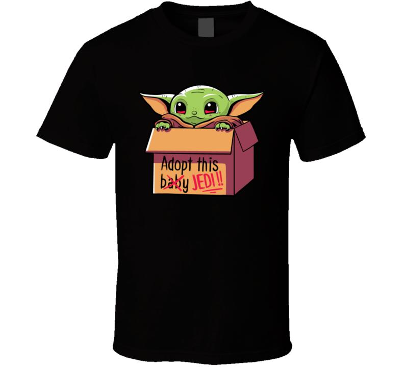 Baby Yoda Jedi T Shirt