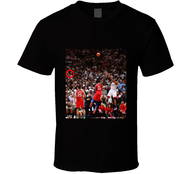 Raptors History - I Was There T Shirt