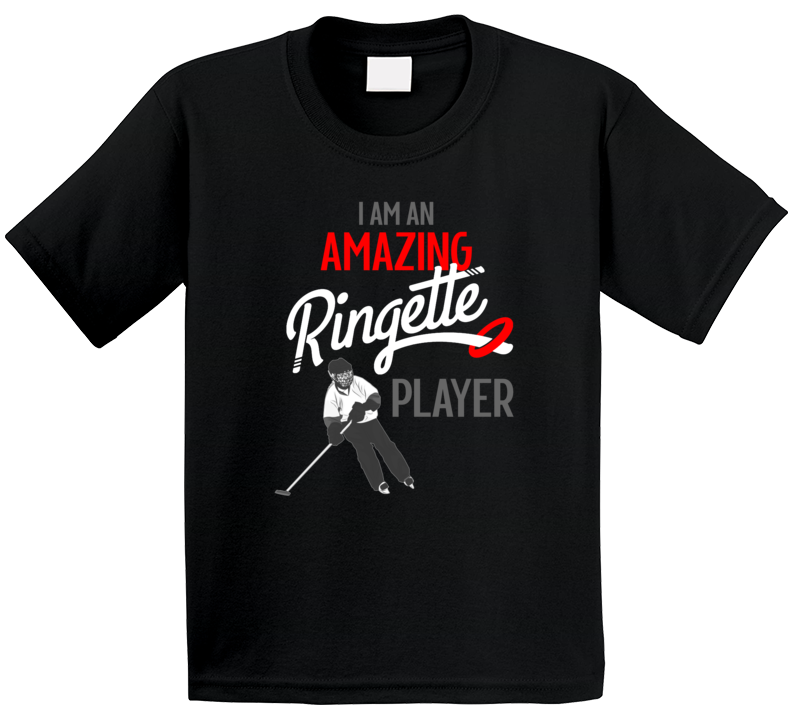 I Am An Amazing Ringette Player T Shirt