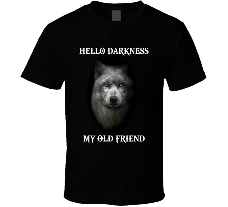 Hello Darkness My Old Friend  T Shirt