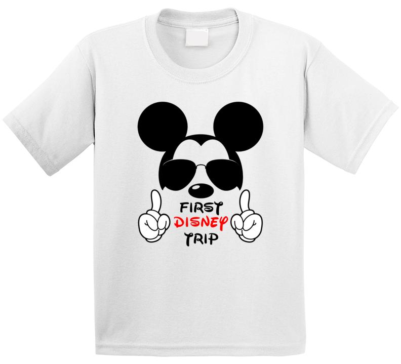 First Disney Trip T Shirt