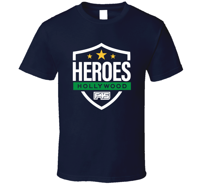 Heroes Of Hollywood T Shirt