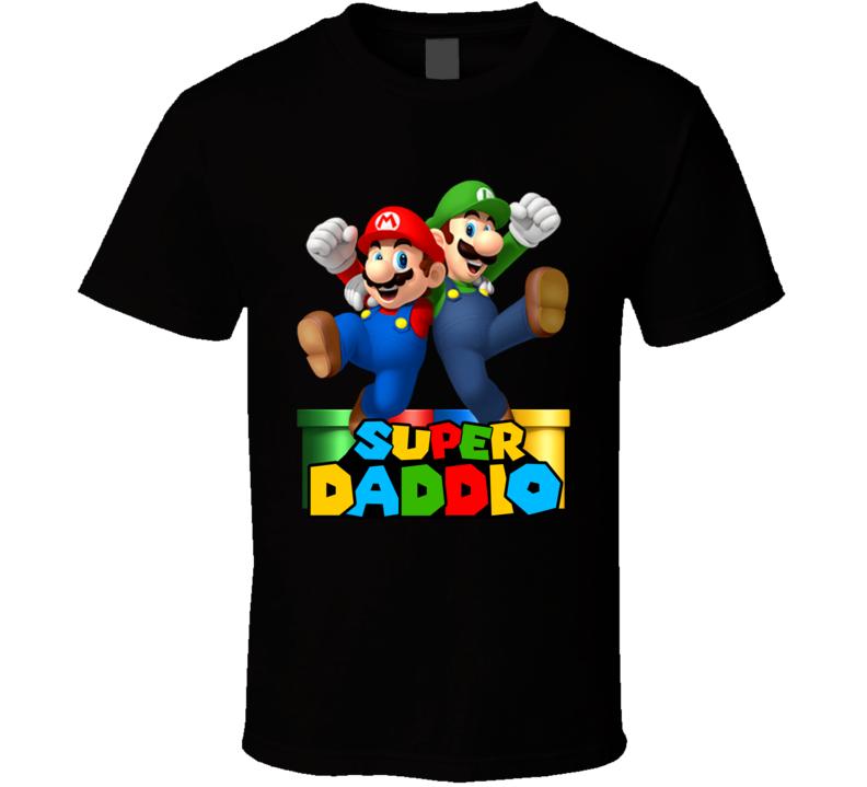 Super Mario Daddio Parody T Shirt