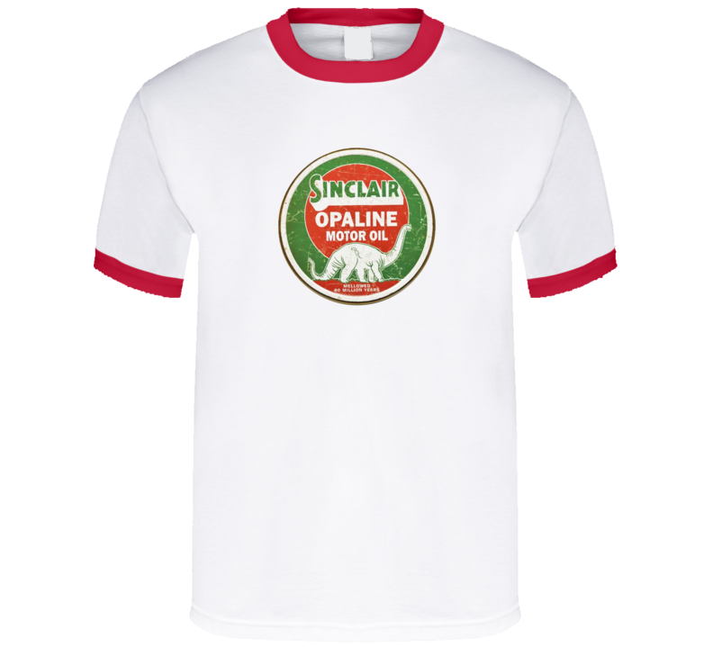Sinclair Opaline Motor Oil Retro T Shirt