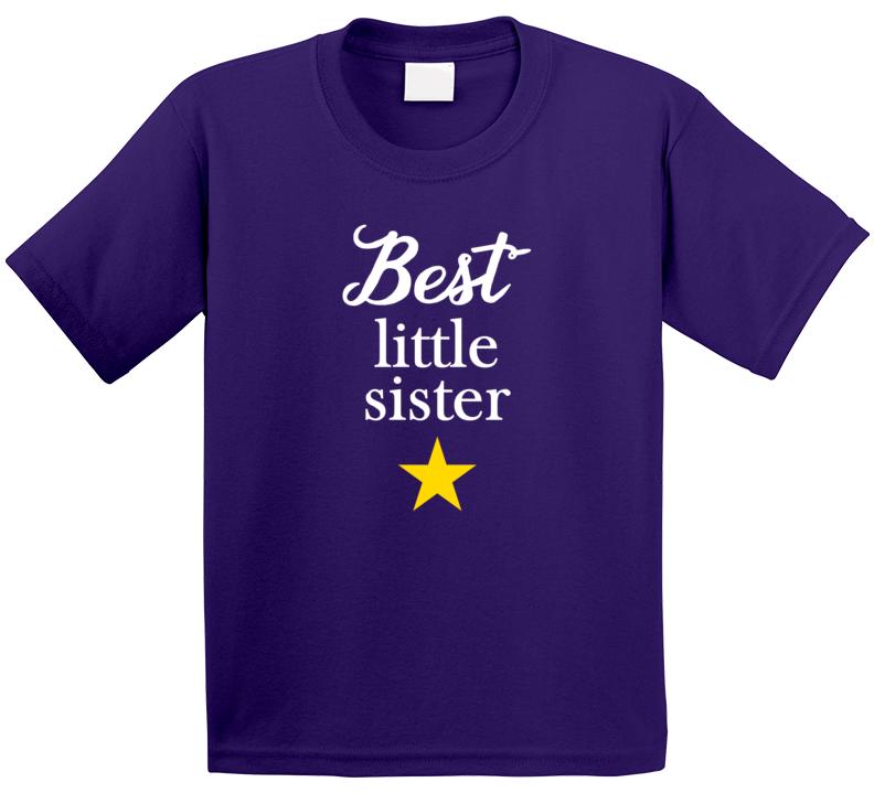 Best Little Sister T Shirt